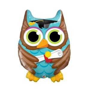 "GRADUATE OWL 34"" - MYLAR"