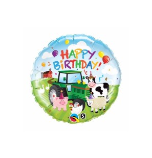 "HAPPY BIRTHDAY BARNYARD 18""..."