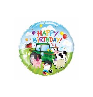 "HAPPY BIRTHDAY BARNYARD 18""..."