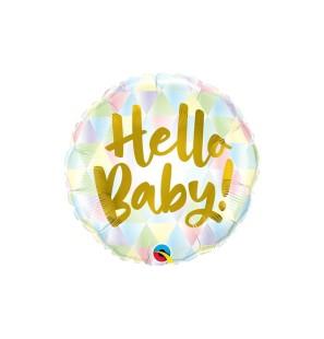 "HELLO BABY 18"" - MYLAR"