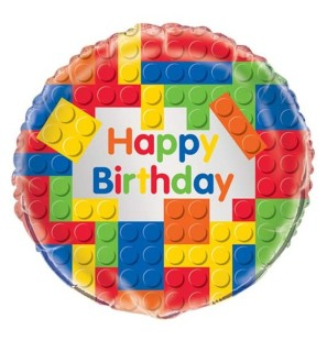 Lego Happy Birthday Round...