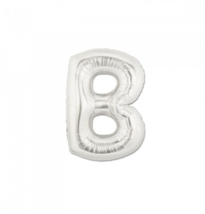 Lettera B in Mylar 35 cm...