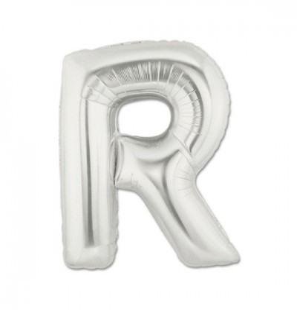 Lettera R in Mylar 100 cm...