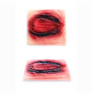 Bruciatura ovale