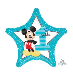 "Mickey Star Number 1 da 18""..."