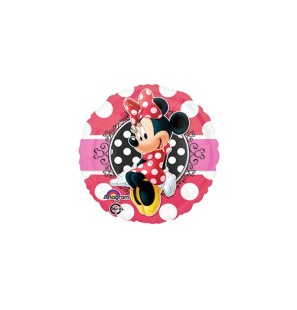 "Minnie Mouse Potrait 18""-Mylar"