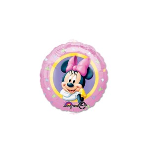 "Minnie Potrait Rosa 18""-Mylar"