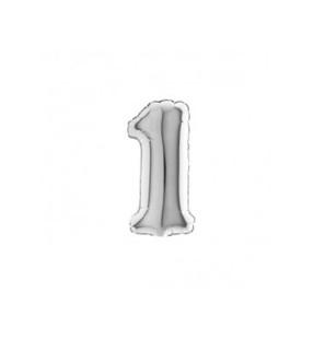 Numero 1 in Mylar 18cm...