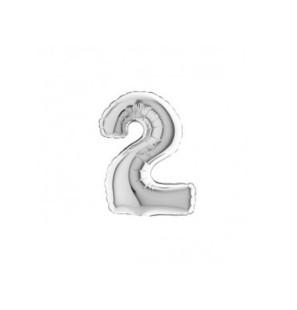 Numero 2 in Mylar 18cm...