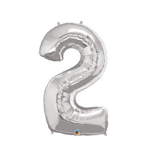 "Numero 2 in Mylar 34"" -..."