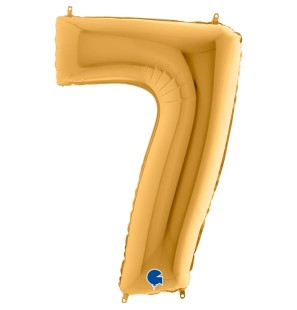 Numero 7 in Mylar 100 cm...
