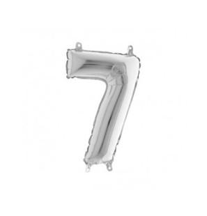 Numero 7 in Mylar 35cm Mini...