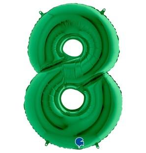 Numero 8 in Mylar 100cm...