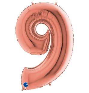 Numero 9 in Mylar 100cm...