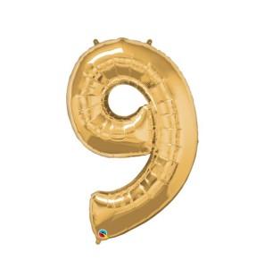 "Numero 9 in Mylar 34"" -..."