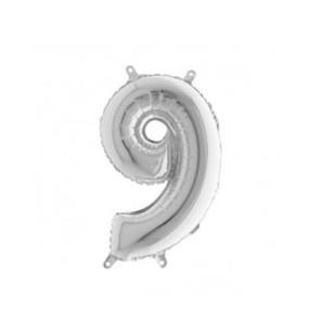 Numero 9 in Mylar 35cm Mini...