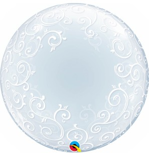 "Palloncino 24"" Deco Bubble..."