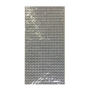 Pietre adesive Argento