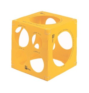 Balloon Sizer Box Giallo