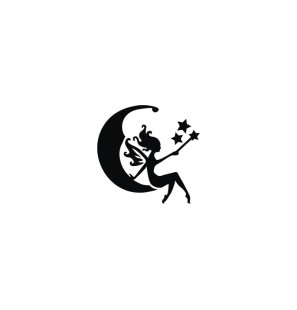 Stencil Adesivo 40401 Moon...
