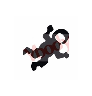 Stencil Adesivo 42103 Spaceman