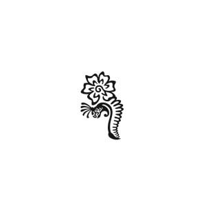 Stencil Adesivo 50000 Fiore