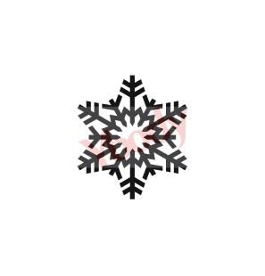 Stencil Adesivo 54900 Snow...