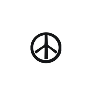 Stencil Adesivo 55000 Peace