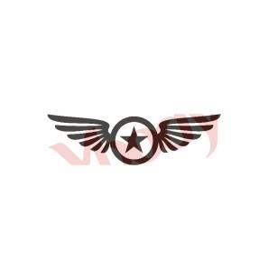 Stencil Adesivo 55101 Star...