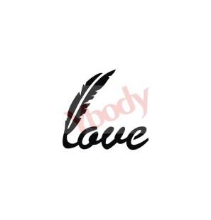 Stencil Adesivo 55601 Love...