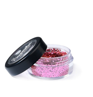 Bio Glitter Rose Pink-Chunky