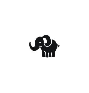 Stencil Adesivo 73000 Elephant