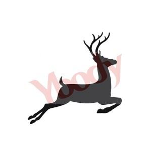 Stencil Adesivo 80800 Reindeer