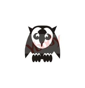 Stencil Adesivo 87000 Owl