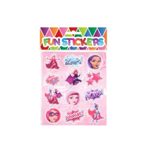 Stickers Super Girls