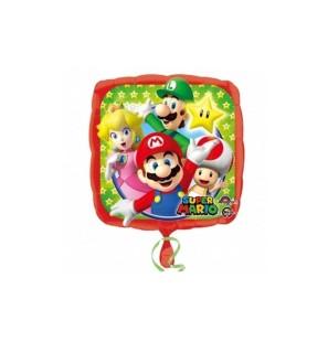 """Super Mario Ballon 18"""" - Mylar"""