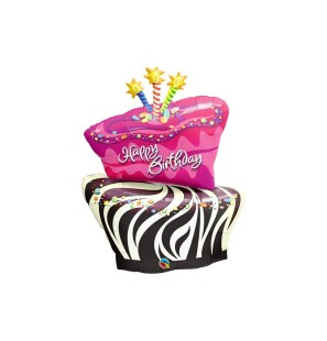 SUPER SHAPE HBDAY ZEBRA...