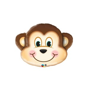 "SUPER SHAPE MONKEY 35"" - MYLAR"