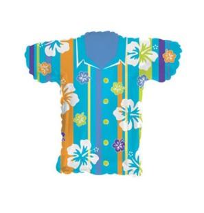 """T-Shirt Hawaiana Blu 30""""-Mylar"""