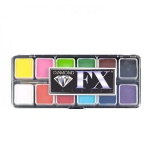 Tavolozza 12 colori da 6 gr