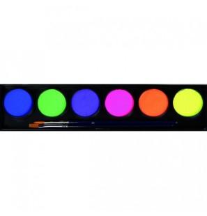 Tavolozza 6 colori neon