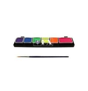 Tavolozza 6 colori neon Mini
