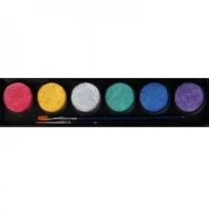 Tavolozza 6 colori perlati