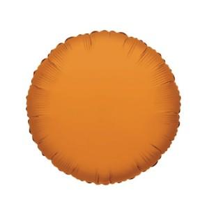 """Tondo Arancio 18""""-Mylar"""