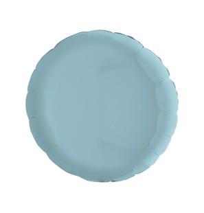 "Tondo Baby Blue 18""-Mylar"