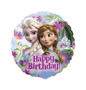 Tondo Frozen Happy Birthday...