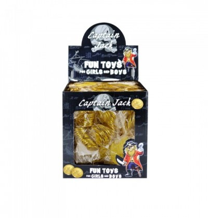 Confezione Monete d'Oro Pirata