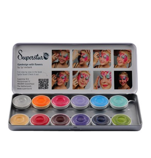 Tavolozza 6 colori Fondotinta Compatti - Ton 02