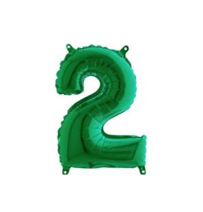 Numero 2 35cm Verde...