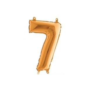 Numero 7 in Mylar 35 cm...
